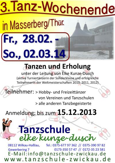Tanz WE 2014